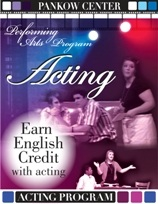 Earn english credit with acting